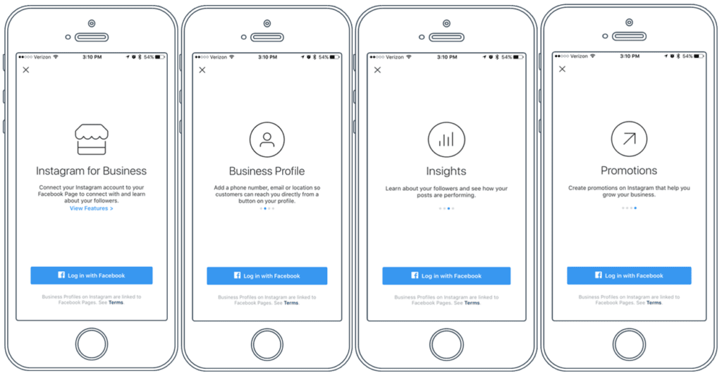 An Instagram business account provides metrics, insights, and precise targeting options.