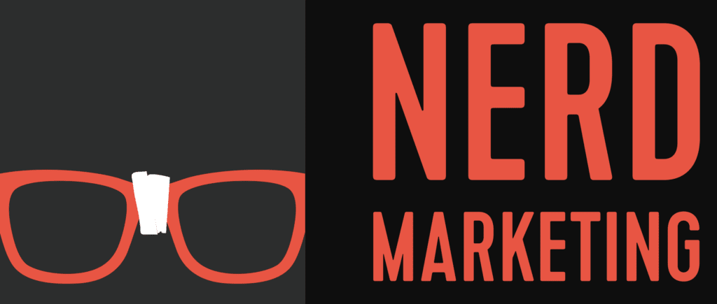 The Nerd Marketing Podcast logo.