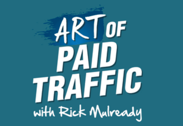 The Art of Paid Traffic Podcast logo.