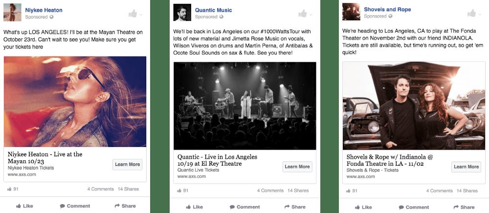 facebook ads landing pages