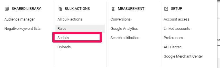 Scripts-option-under-Bulk-Actions-Section