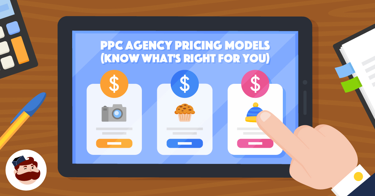 PPC agency pricing models - Opening illustration