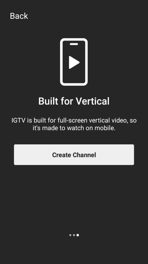 IGTV Intro Page slide 3