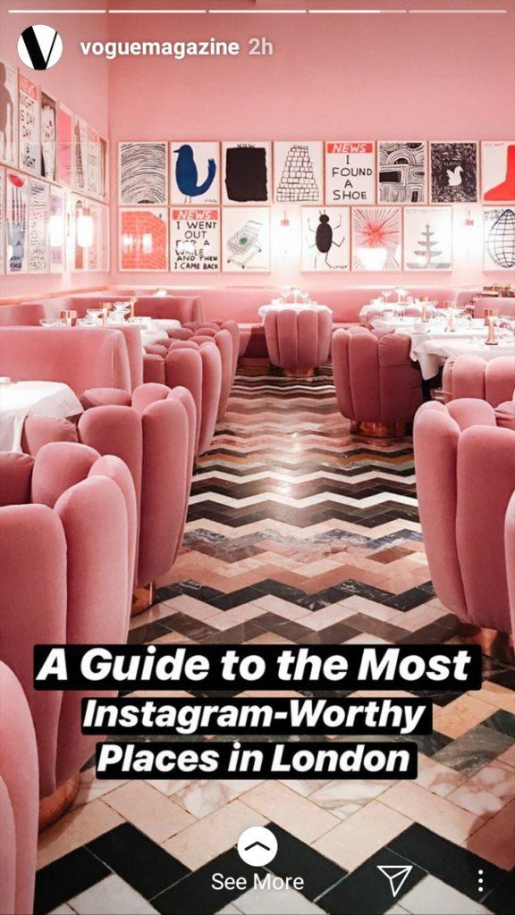 Vogue Instagram ads