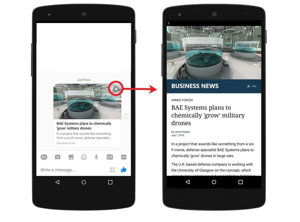 Facebook ad image size Instant Articles
