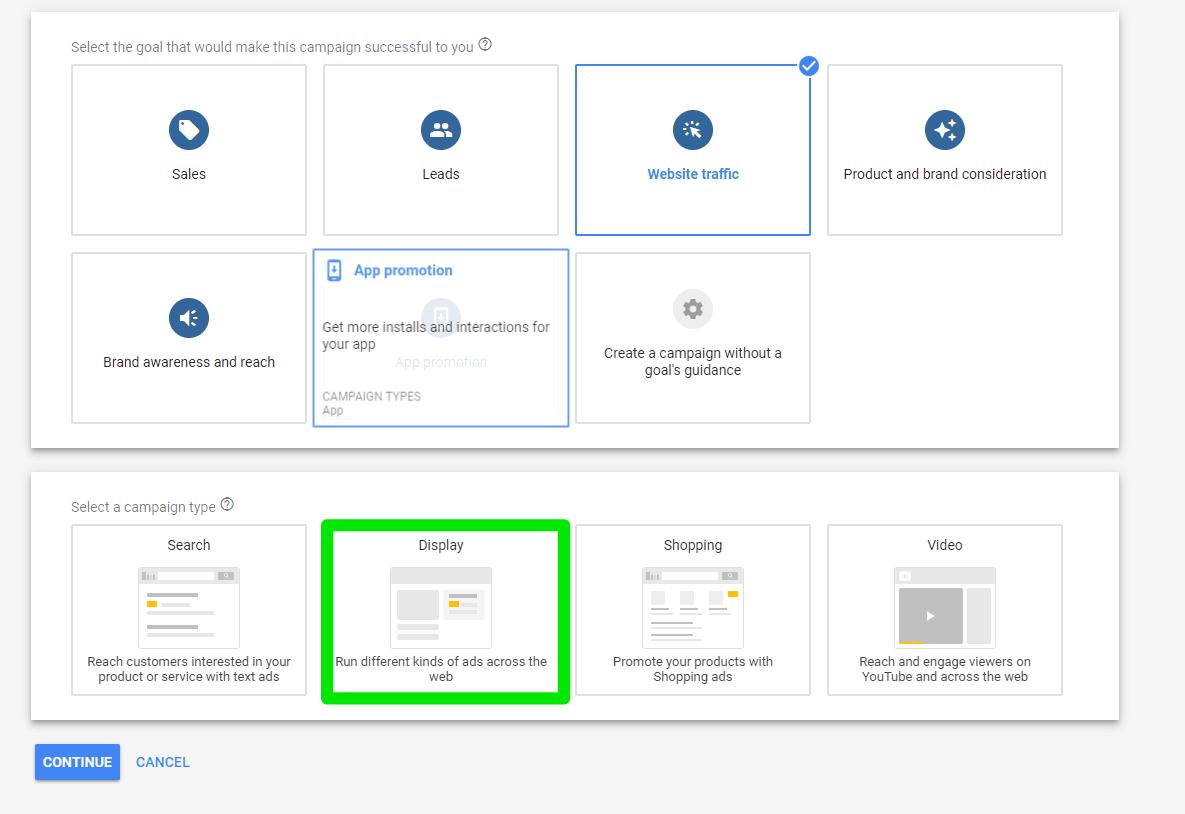 Google Responsive Ads creation - GDN