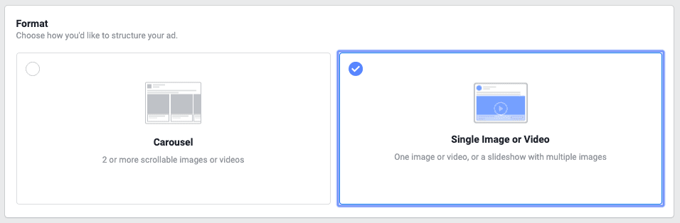 Creating a Facebook lead ad 4