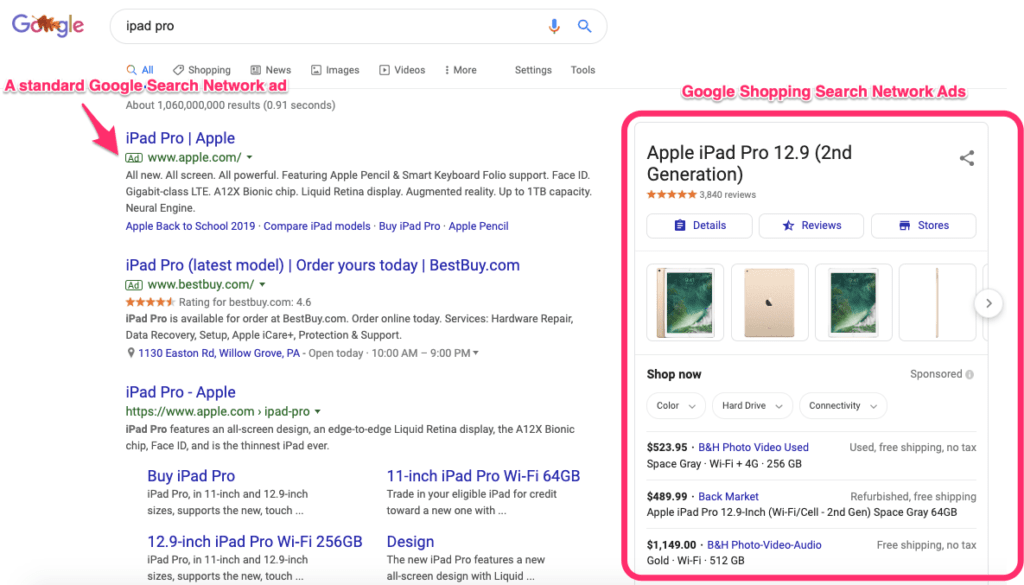 Search Network Goole Ad Image Size