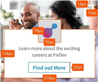 Spotlight LInkedIn Ad Image Size
