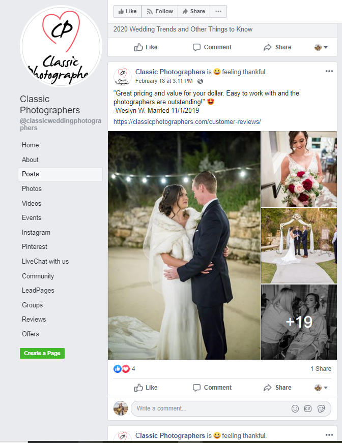Classic Photographers FB