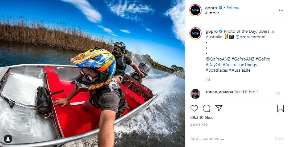 GoPro on Instagram