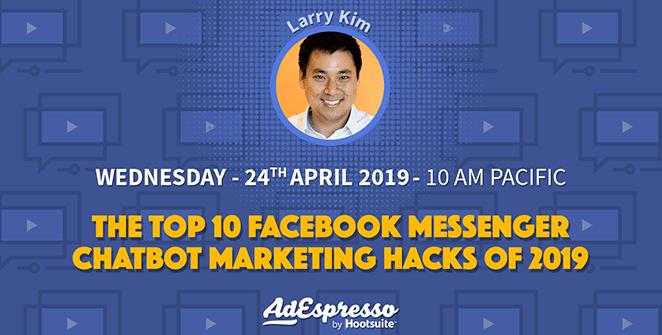 Larry Kim Marketing Webinar