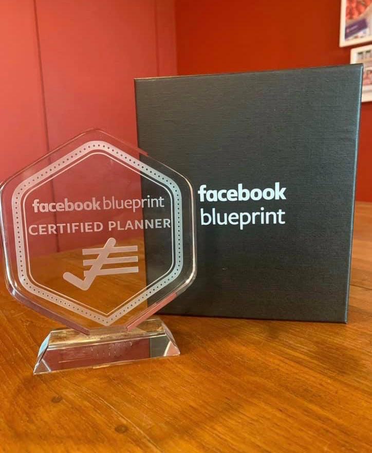 Facebook Blueprint certification award