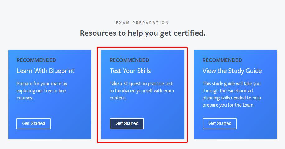 Blueprint practice test