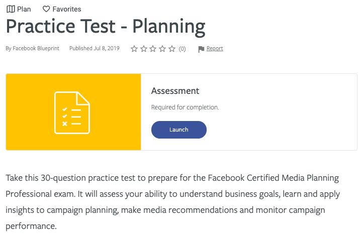 Blueprint certification practice test