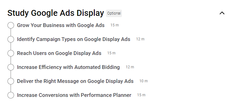 Google Ads certification study guide