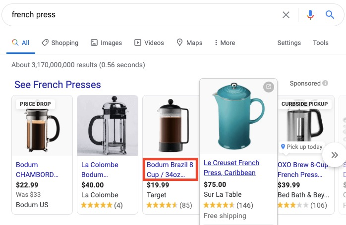 """Google search results for search term """"french press"""""""