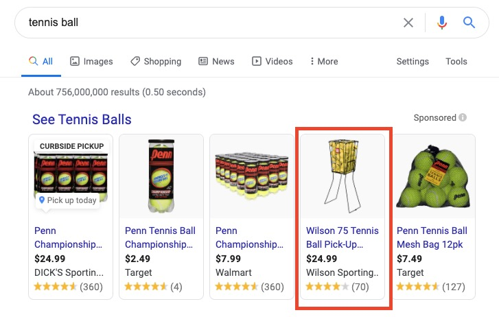 """Google search results for search term """"tennis ball"""""""