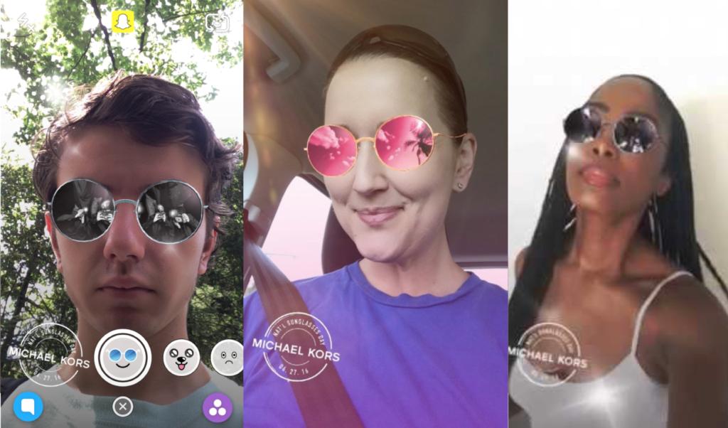 Snapchat sponsored lenses for ads