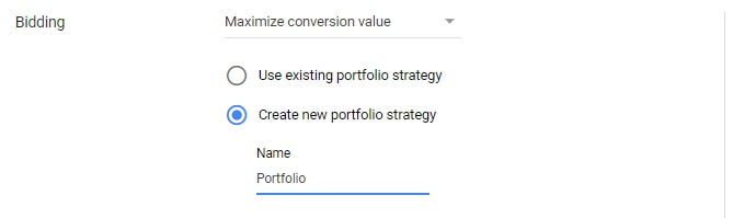 Google Ads new portfolio strategy