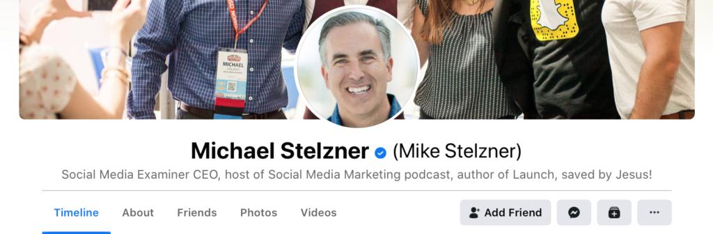 Facebook account verify