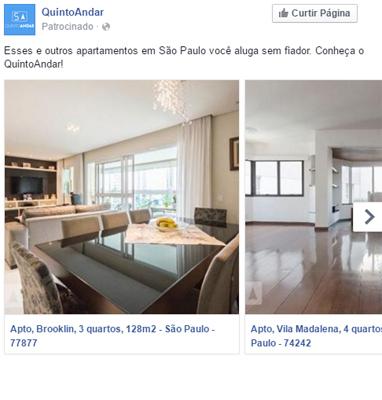 QuintoAndar real estate ad