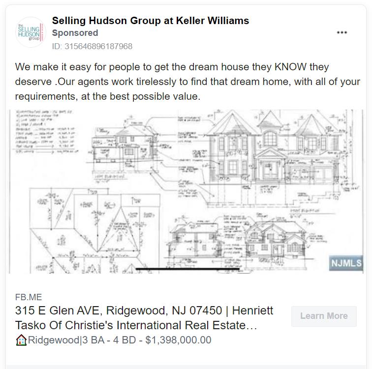 Selling Hudson real estate advertising