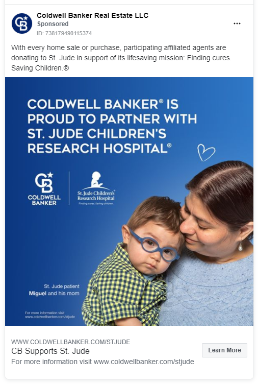 Coldwell Banker FB ad
