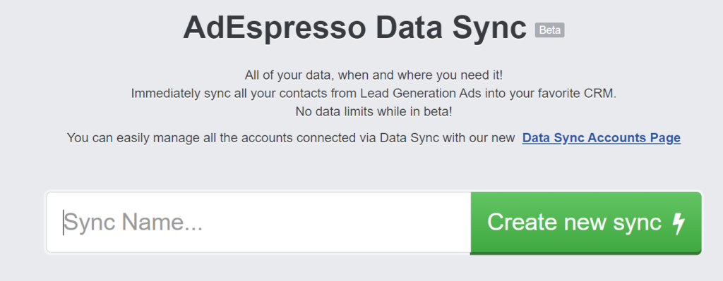AdEspresso Lead Ads Testing Tool 2