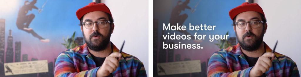 Split testing video ad thumbnail