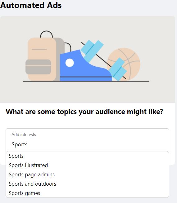 Configuração de anúncio automatizado do Facebook 11