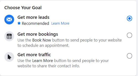Configuração de anúncio automatizado do Facebook 13