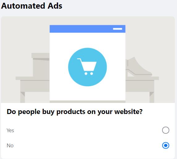 Configuração de anúncio automatizado do Facebook 6