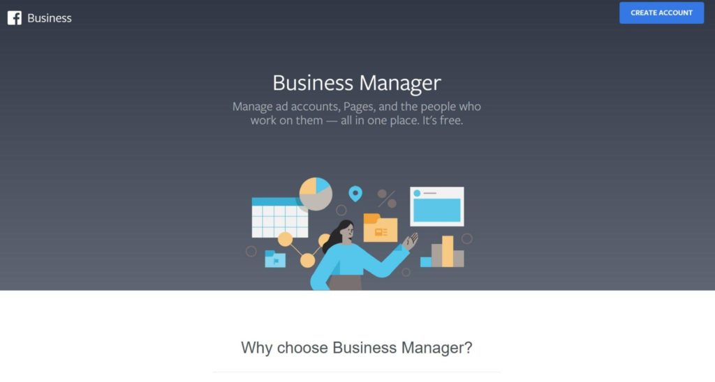Creating an account in Facebook Business Manager