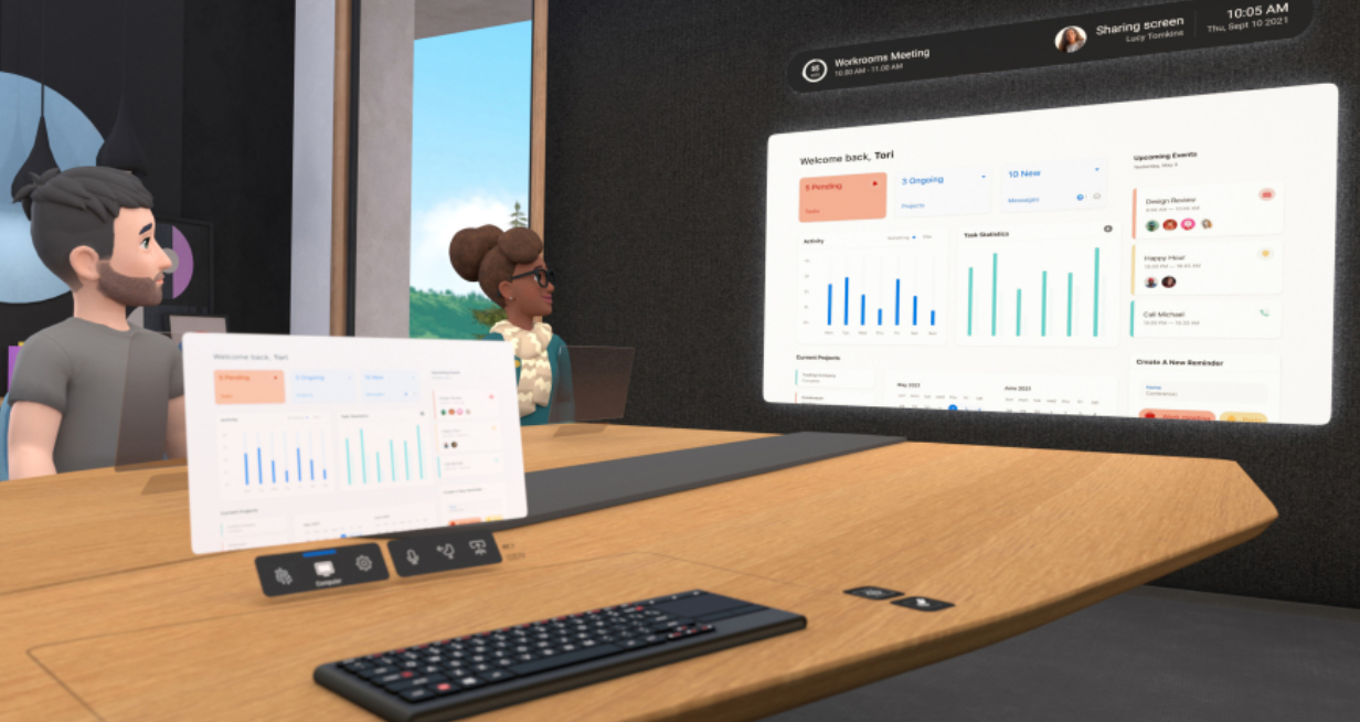 Facebook Horizon Workrooms for Oculus